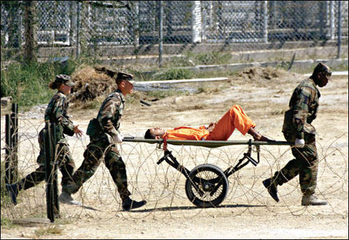 While the treatment of prisoners at detention facilities at Guantanamo Bay