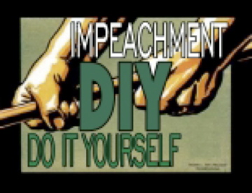 Impeach bush yourself logo